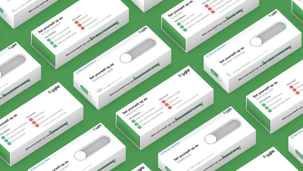 Toggle Design Packaging